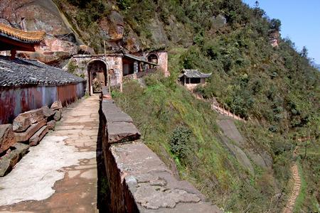 Sichuan danehill Taoist temple