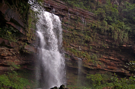 Sichuan streams waterfall picture