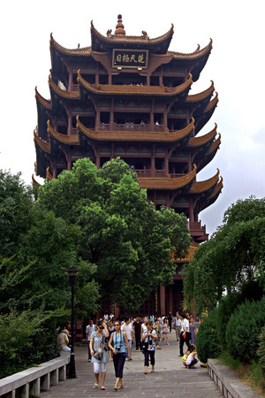 hubei province: Yellow crane tower