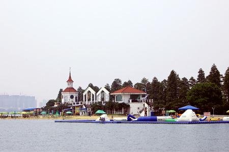wuhan: Scenery at Wuhan east lake Editorial