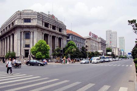 wuhan: A street in wuhan