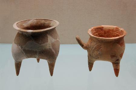 Ancient Chinese ceramics Editorial