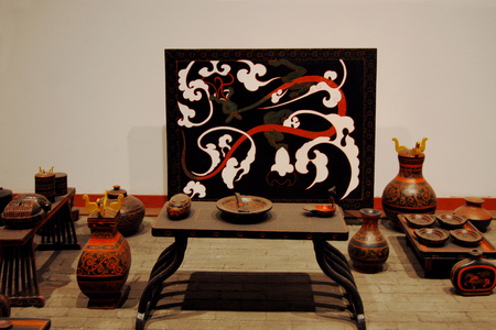 lacquerware: The ancient Chinese lacquer