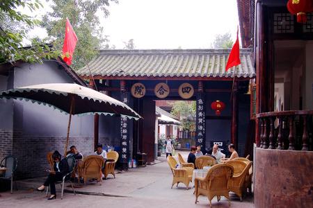 sichuan: Sichuan teahouse