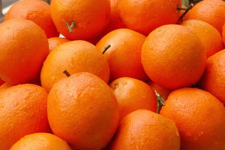navel: Navel orange Stock Photo