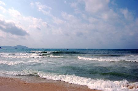 turismo ecologico: Hainan scenery Foto de archivo