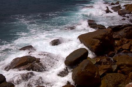 turismo ecologico: Las ondas de los accesos a la roca