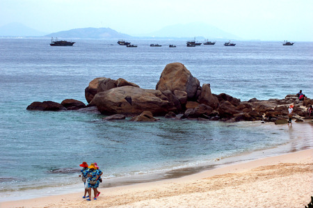 turismo ecologico: Hainan paisaje Editorial