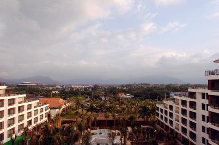 turismo ecologico: Vista del paisaje de Hainan paisaje