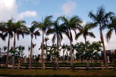 turismo ecologico: Hainan paisaje Foto de archivo