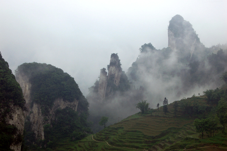 south sichuan: Natural scenery