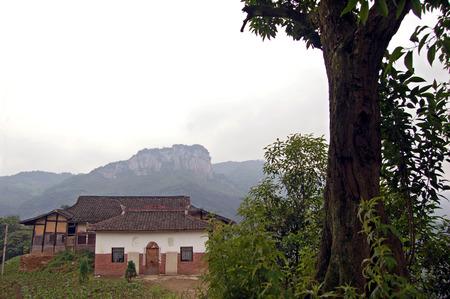 south sichuan: Mountain temple