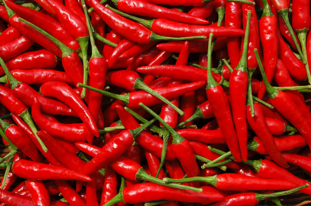 south sichuan: Close up to chilies  Stock Photo