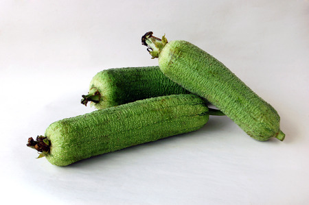 south sichuan: Towel gourd Stock Photo