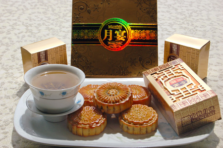 local festivals: The moon cake Editorial