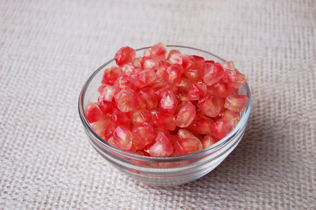 south sichuan: pomegranate Stock Photo