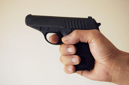south sichuan: Toy pistol Stock Photo