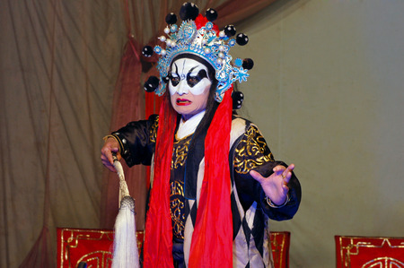 south sichuan: Chinese stage performance