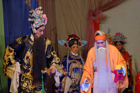 south sichuan: Chinese stage performance  Editorial