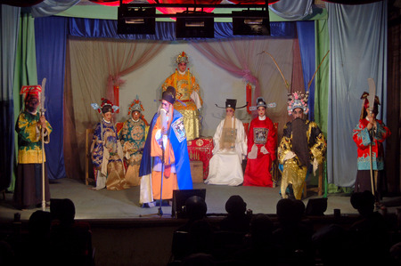 Chinese stage performance