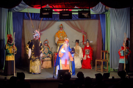 Chinese stage performance  新聞圖片