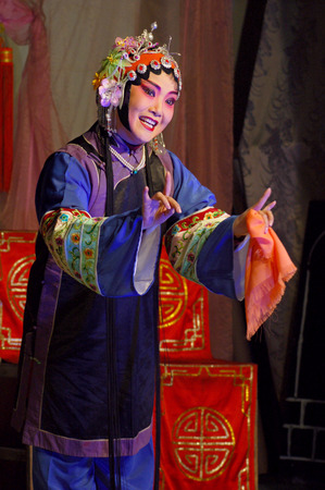 denier: Traditional stage performance