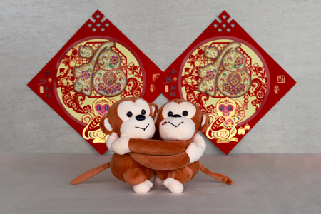 ethnic customs: Chinese New Year decorations