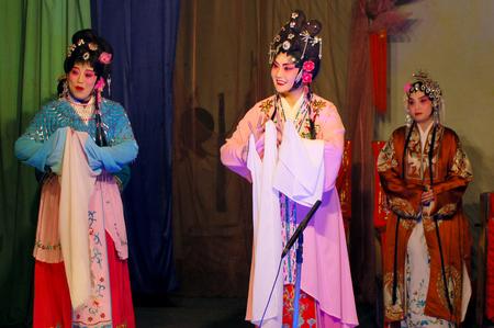 denier: Chinese opera