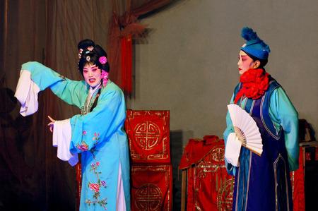 denier: Chinese opera performance