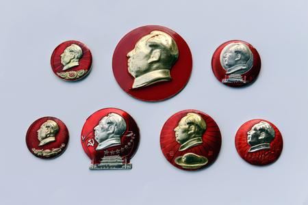 mao: Mao zedong badges