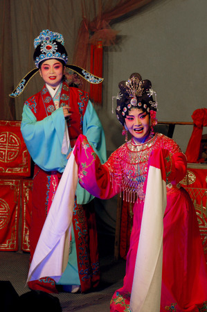 denier: Sichuan stage performance - front of the universe