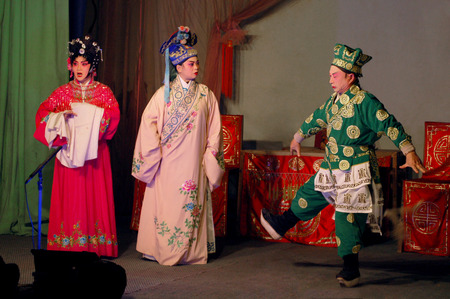sichuan: Sichuan stage performance - front of the universe