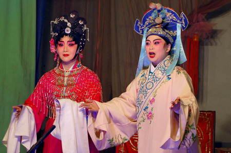 Sichuan stage performance - front of the universe