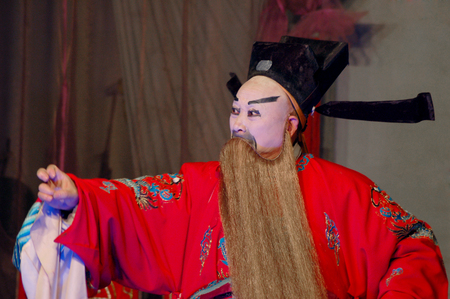 sichuan: Sichuan opera - front of the universe