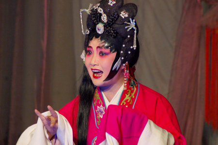 folk customs: Sichuan opera - front of the universe
