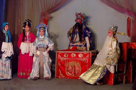 denier: Sichuan opera - front of the universe