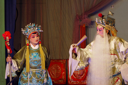 denier: Chinese drama - hit the golden bough Editorial