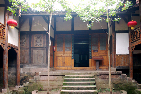 sichuan: Sichuan old folk house
