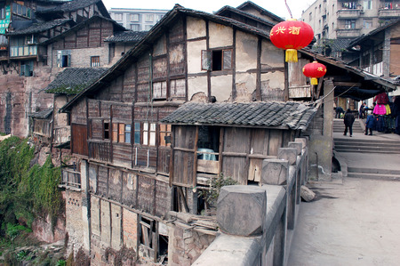 housing style: Sichuan ancient dwellings