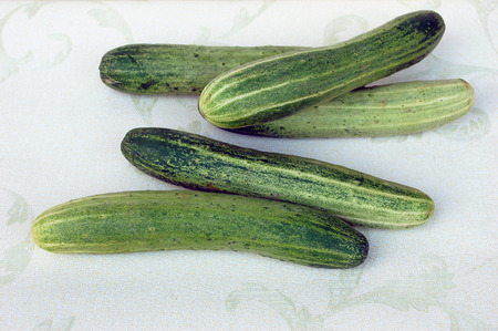 sideline: cucumber Stock Photo
