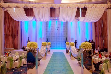 wedding customs: The wedding decoration