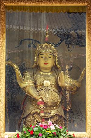 monastery: Wenshu monastery sculpture