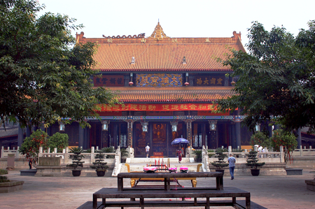 arhat: China Temple arhat Temple Editorial