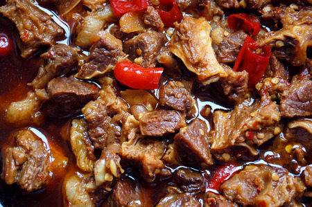 Braise in soy sauce meat