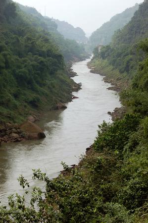 Canyon scenery