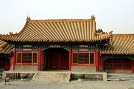 Chinese Architecture at forbidden city