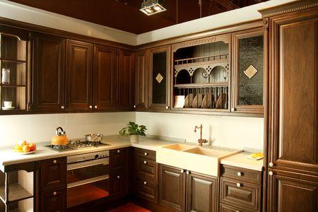 furniture: Kitchen furniture & interior