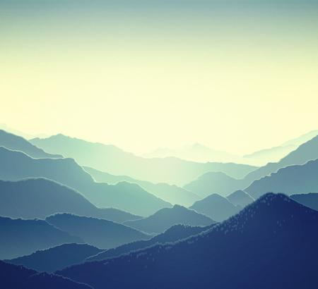 montagna: Mountain natura paesaggio panoramico.