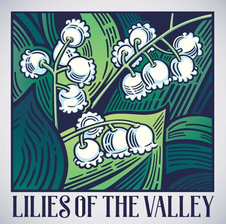 Flowers lilies of the valley