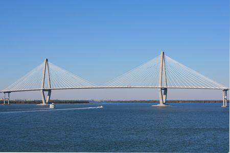 Arthur Ravenel Bridge in Charleston photo